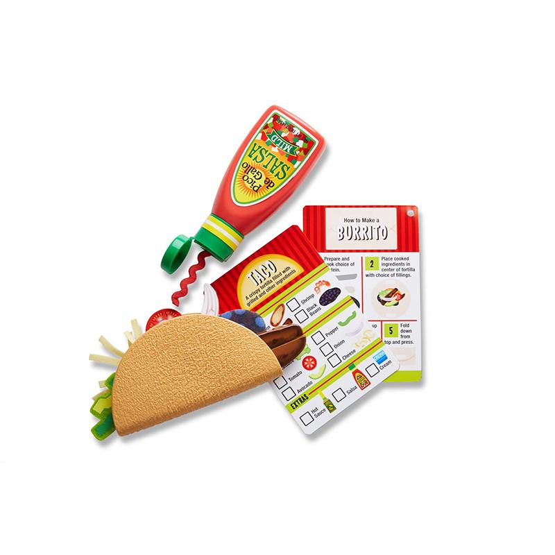 Melissa and Doug Fill & Fold Taco & Tortilla Set
