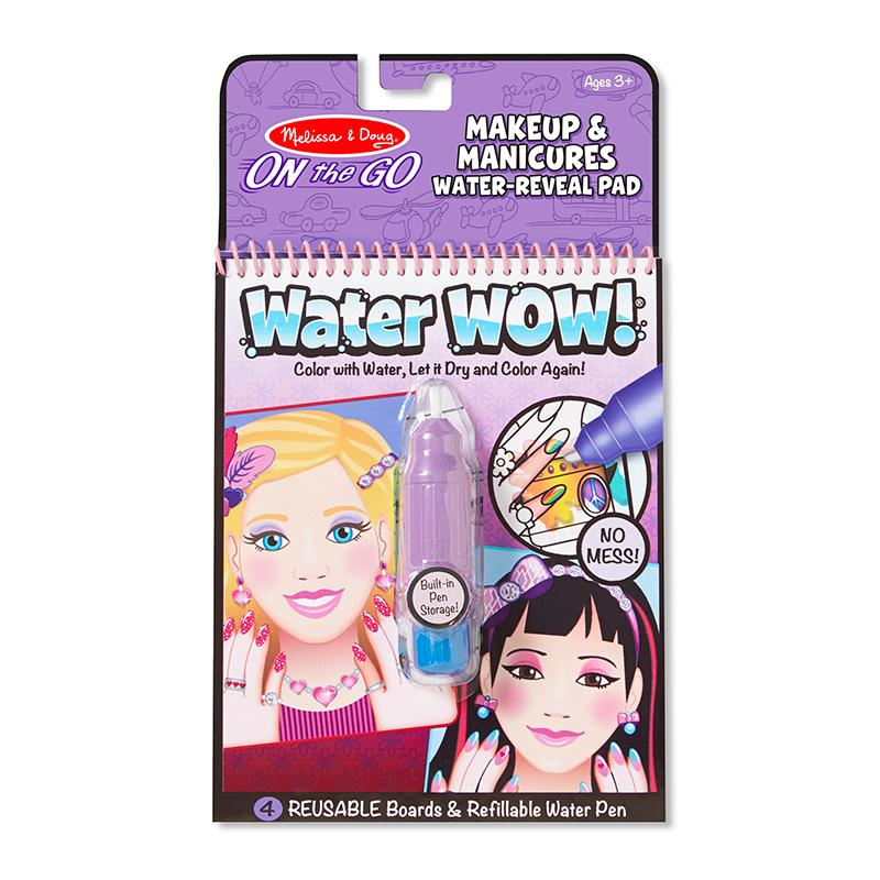 Water Wow! Makeup & Manicures - ON the GO Travel Activity - Happki