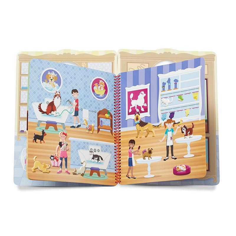 Puffy Sticker Activity Book - Pet Place - Happki