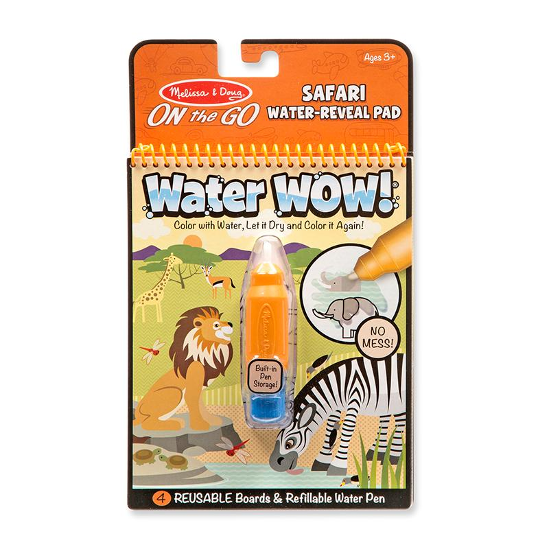 Water Wow! - Safari Water Reveal Pad - ON the GO Travel Activity - Happki