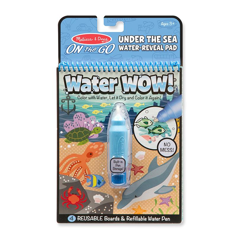 Water Wow! - Under The Sea Water Reveal Pad - ON the GO Travel Activity - Happki