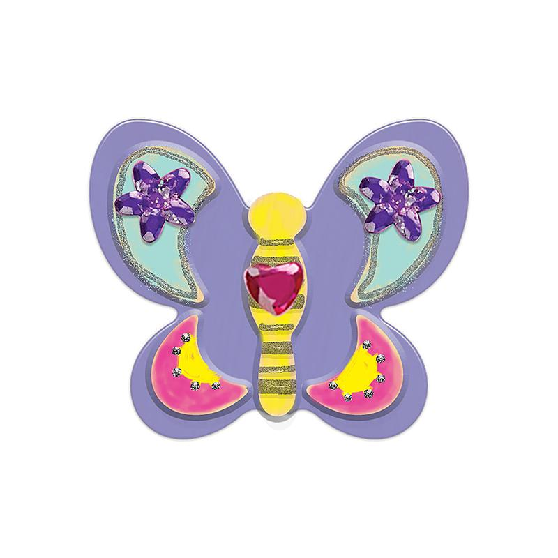 Created by Me! Butterfly Magnets Wooden Craft Kit - Happki