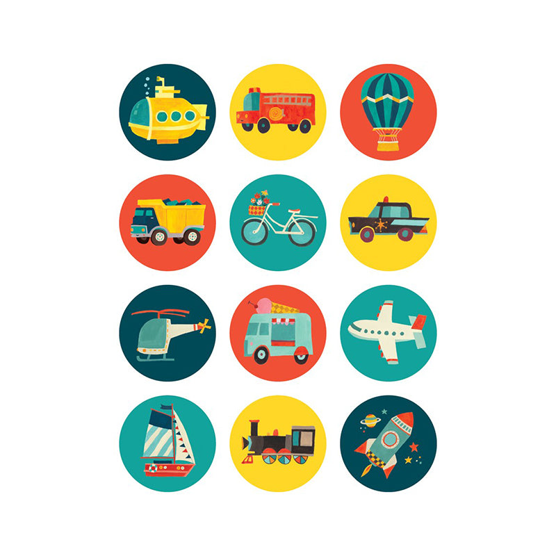 Transportation Mini Memory Match Game - Happki