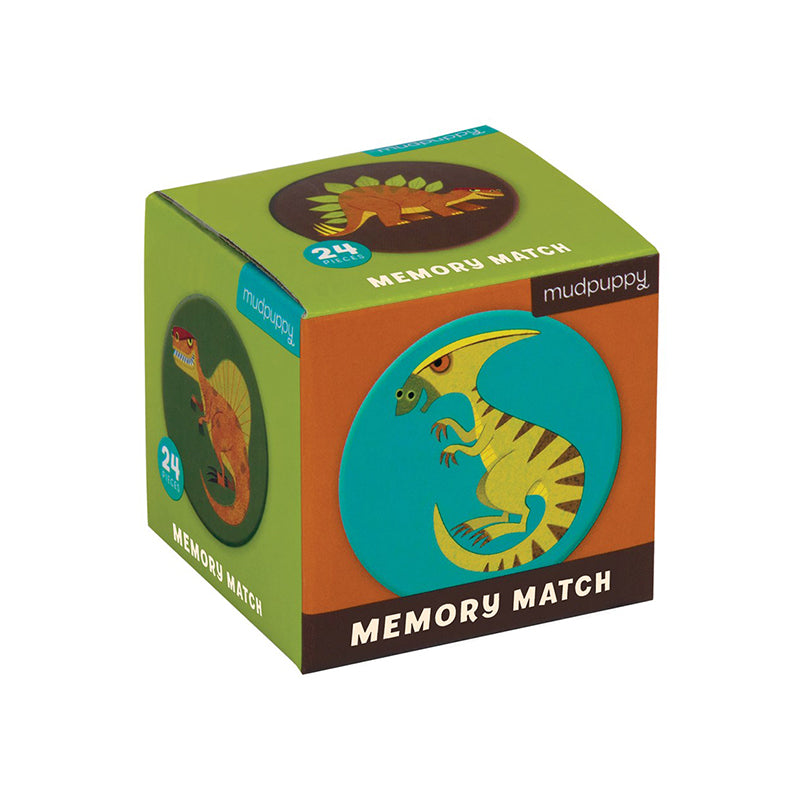 Mighty Dinosaurs Mini Memory Match Game - Happki