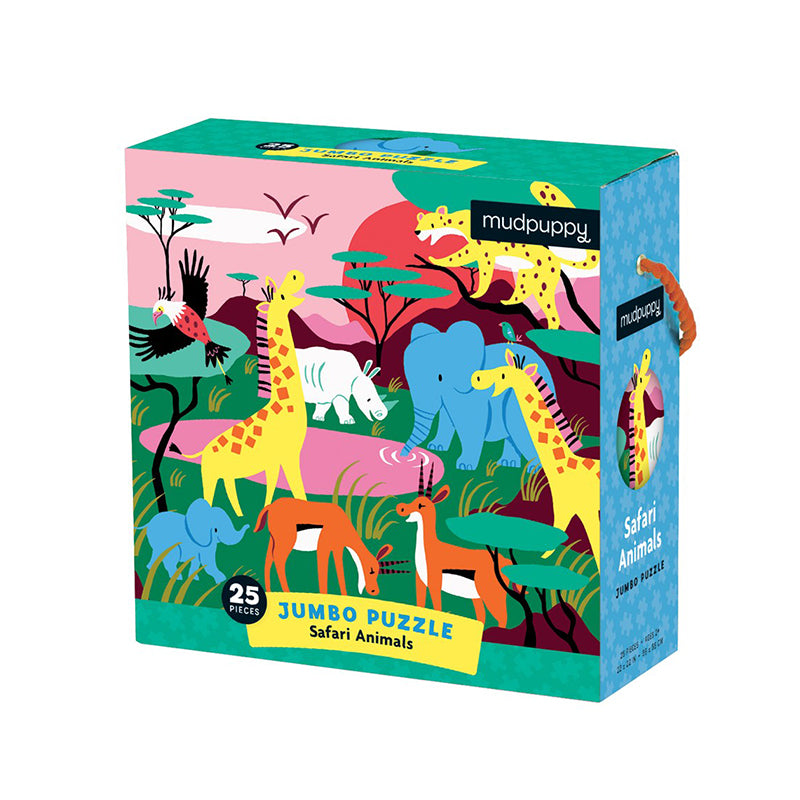 Safari Animals Jumble Puzzle - Happki