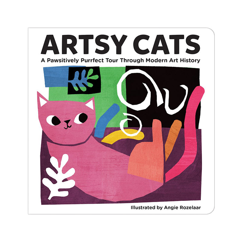Artsy Cats Board Book - Happki