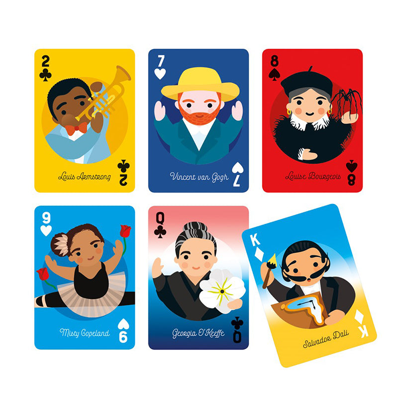 Little Artist Playing Cards - Happki