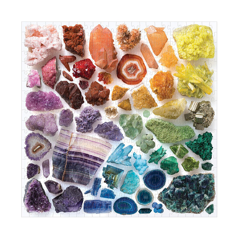 Crystals 500 pc puzzle - Happki