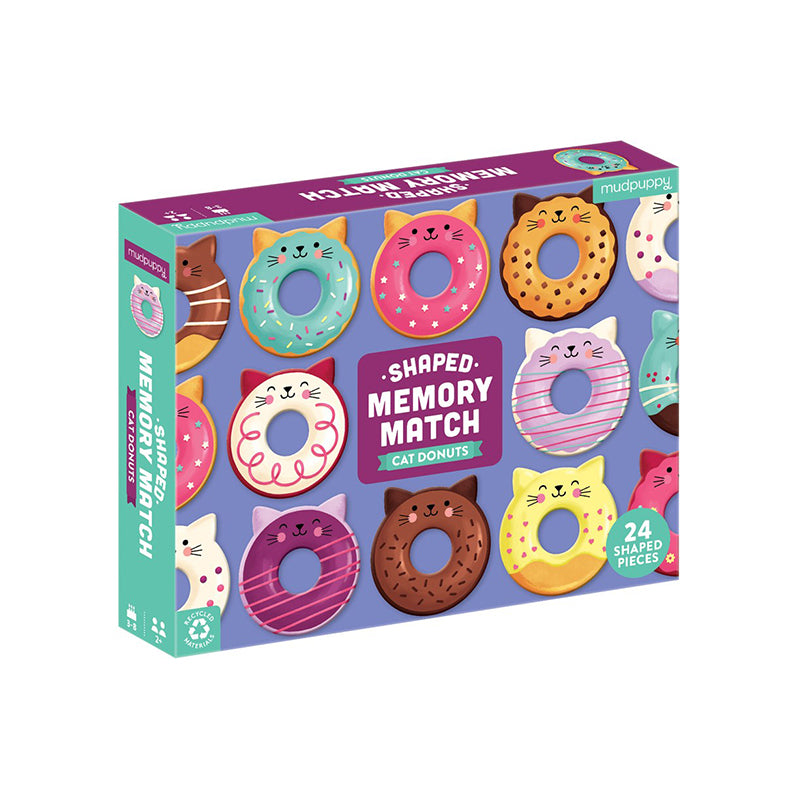 Cat Donuts Shaped Memory Match - Happki