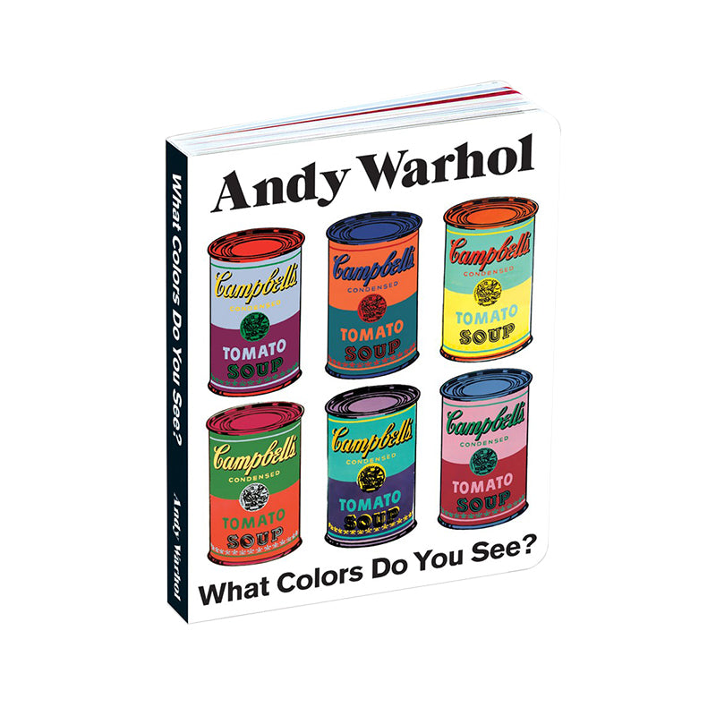 Andy Warhol What colors do you see? - Happki