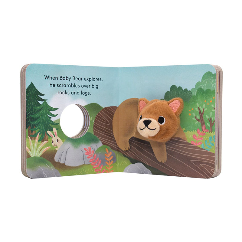 Baby Bear: Finger Puppet Book - Happki
