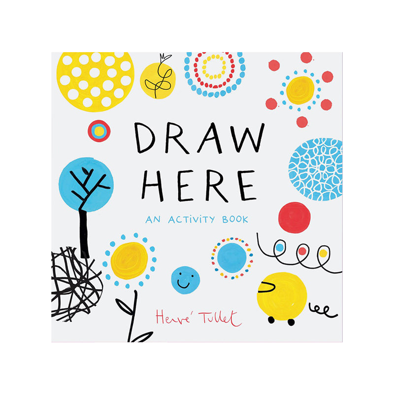 Draw Here: An Activity Book - Happki