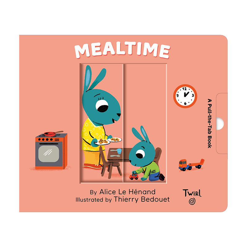 Pull and Play Books: Mealtime - Happki