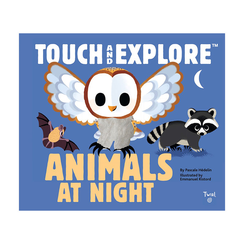 Touch and Explore: Animals At Night - Happki