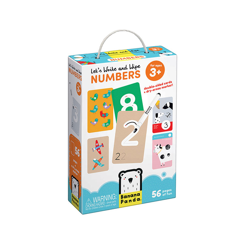Let's Write and Wipe Numbers - Happki