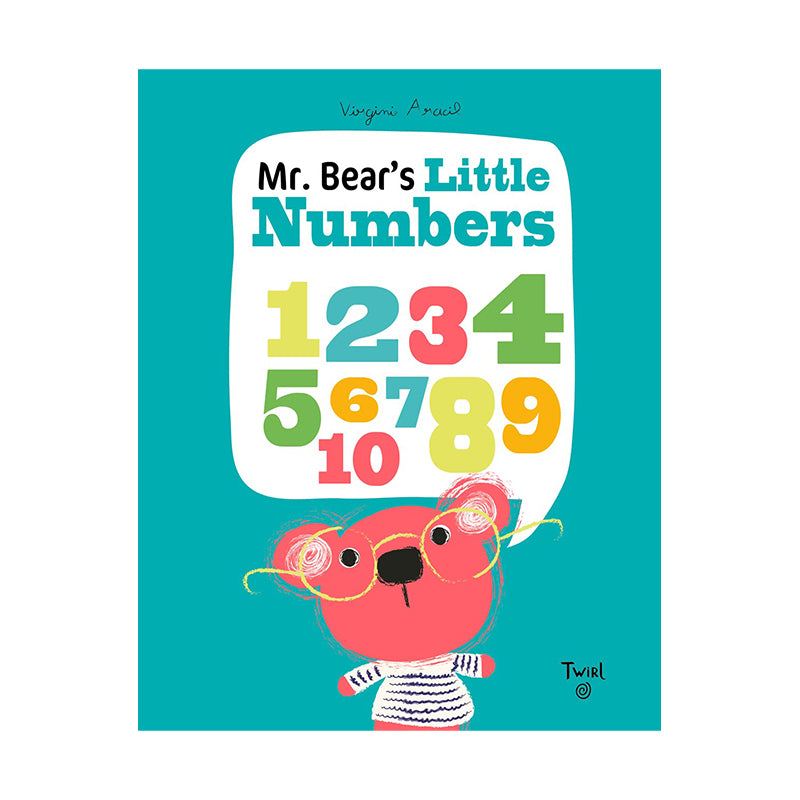 Mr. Bear's Little Numbers - Happki