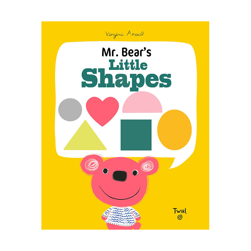 Mr. Bear's Little Shapes - Happki