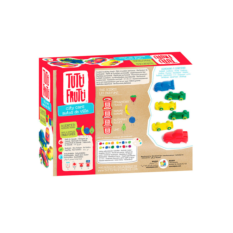 Tutti Frutti City Cars Kit - Happki