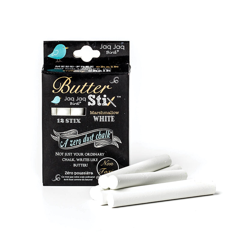 ButterStix® - 12 Pack of White - Happki