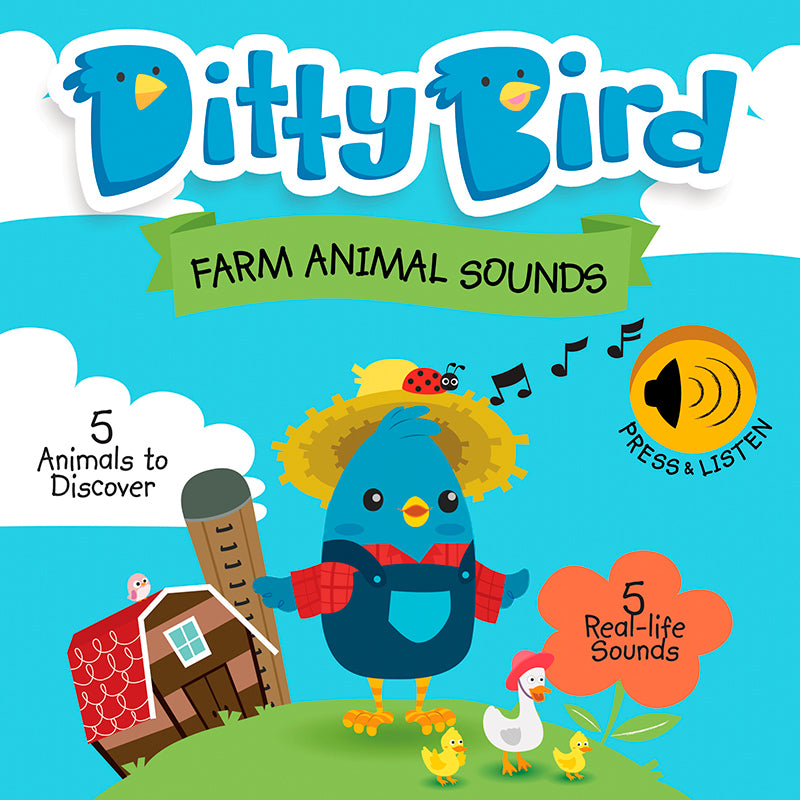 Ditty Bird - Farm Animal Sounds - Happki