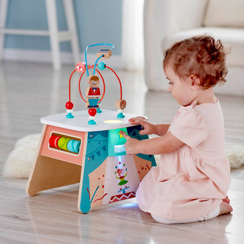Light-Up Circus Activity Cube - Happki