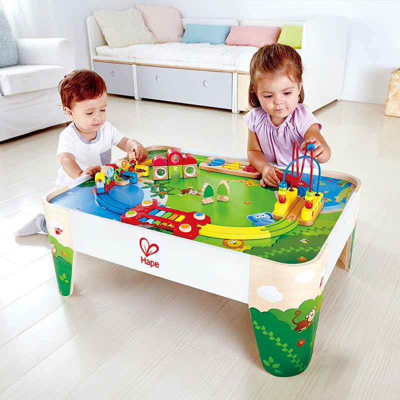 Railway Play Table - Happki