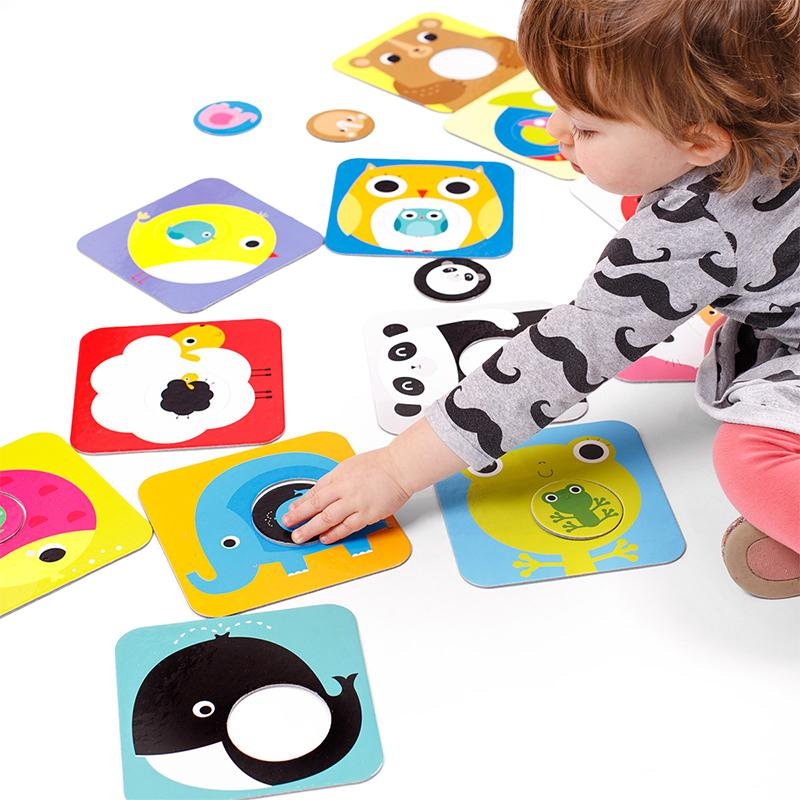 Match the Baby Puzzles - Happki