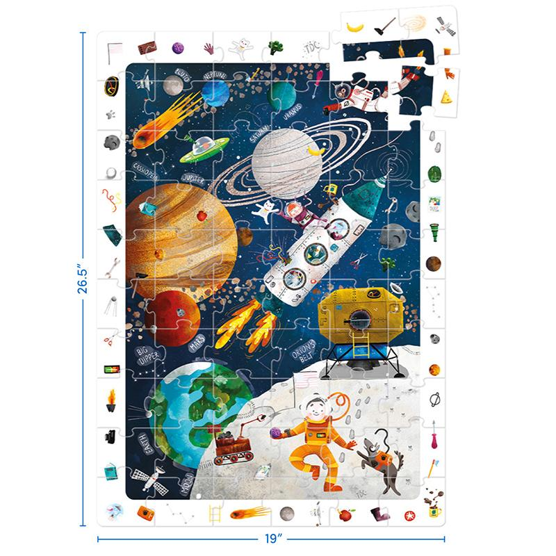 Observation Puzzle Space - Happki