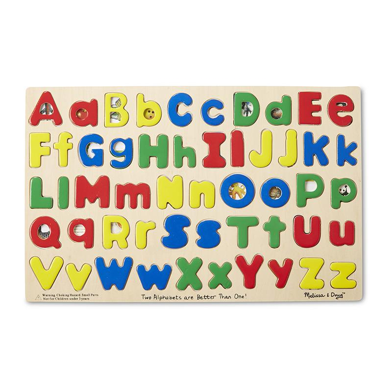 Upper & Lower Case Alphabet Puzzle - Happki