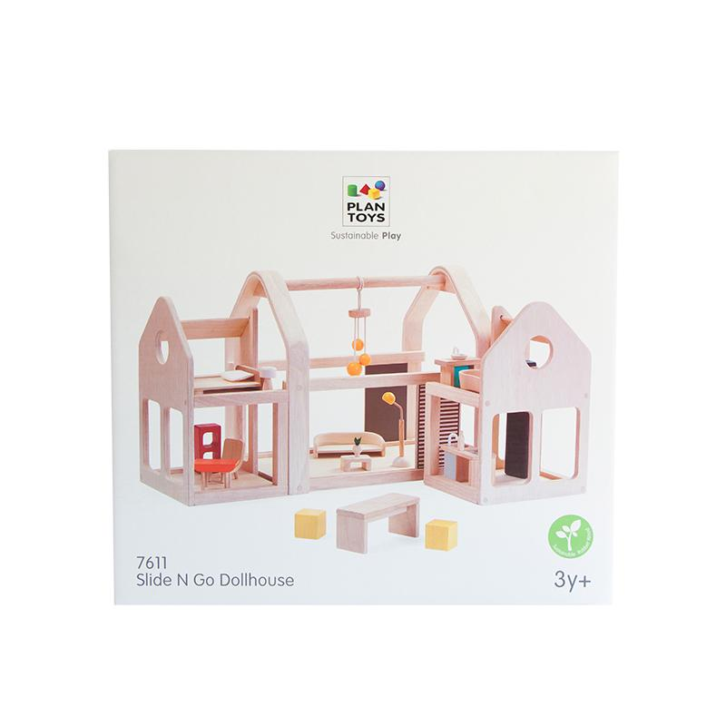Slide N Go Dollhouse - Happki