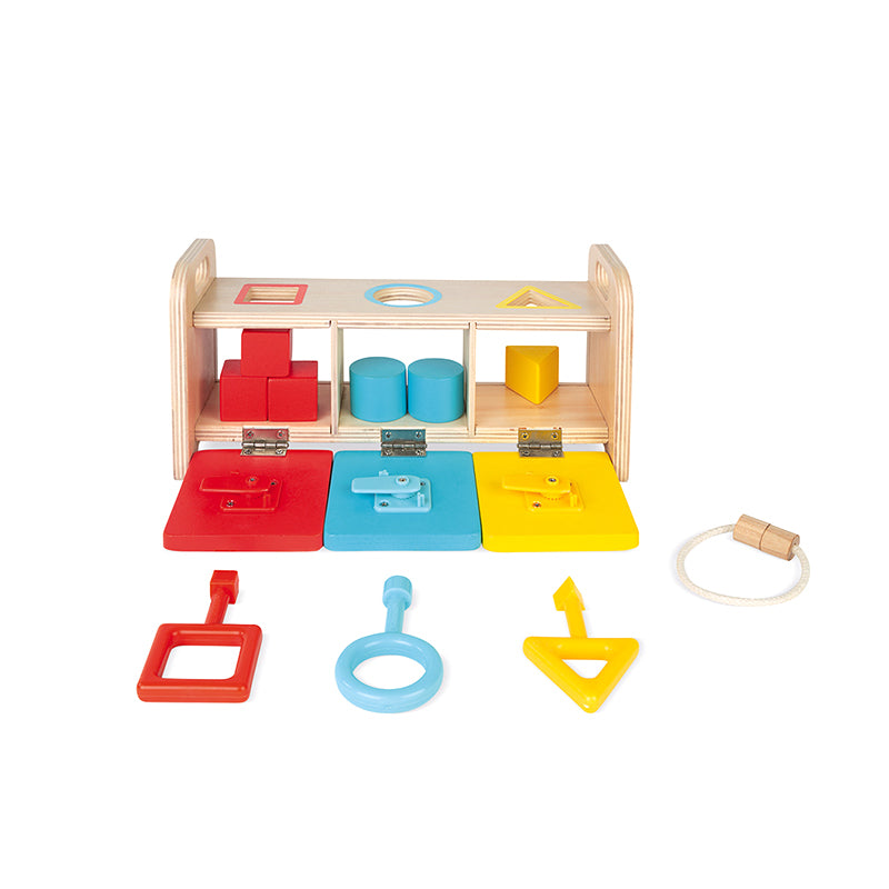 Essential Shape Sorter Box with Keys