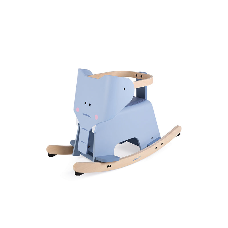 Rocking Elephant With Removable Protection - Happki