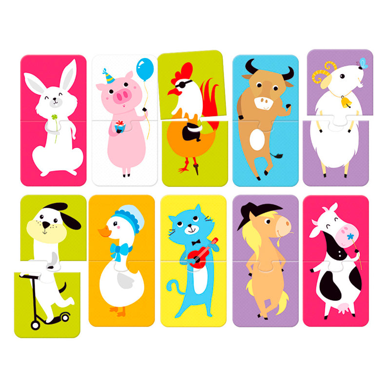Puzzle Pairs Animals - Happki