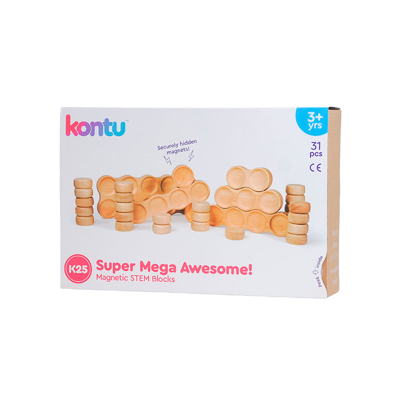 Kontu STEM Blocks - K25 Super Mega Awesome! Kit - Happki