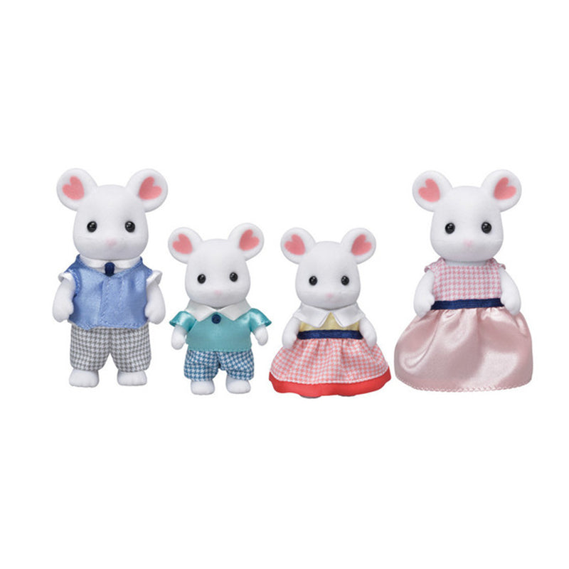 Marshmallow Mouse Family - Happki