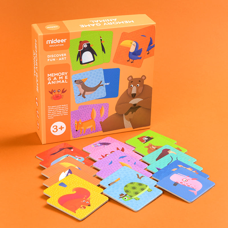 Animals Memory Match Game - Happki