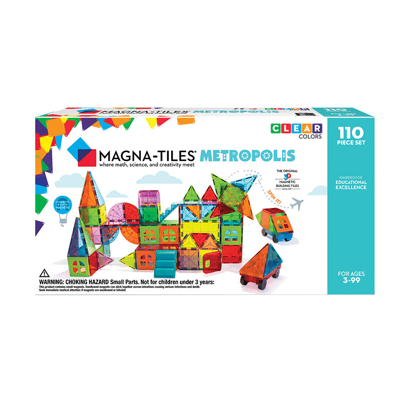 Magna-Tiles Metropolis 110-Piece Set - Happki