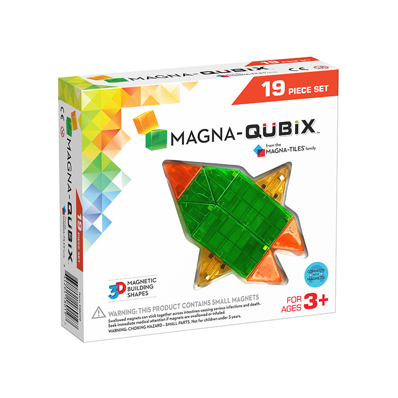 Magna-Qubix® 19-Piece Set - Happki