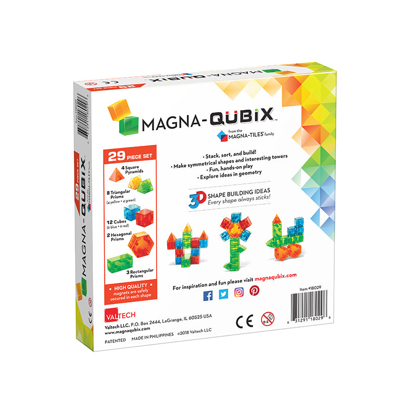 Magna-Qubix® 29-Piece Set - Happki