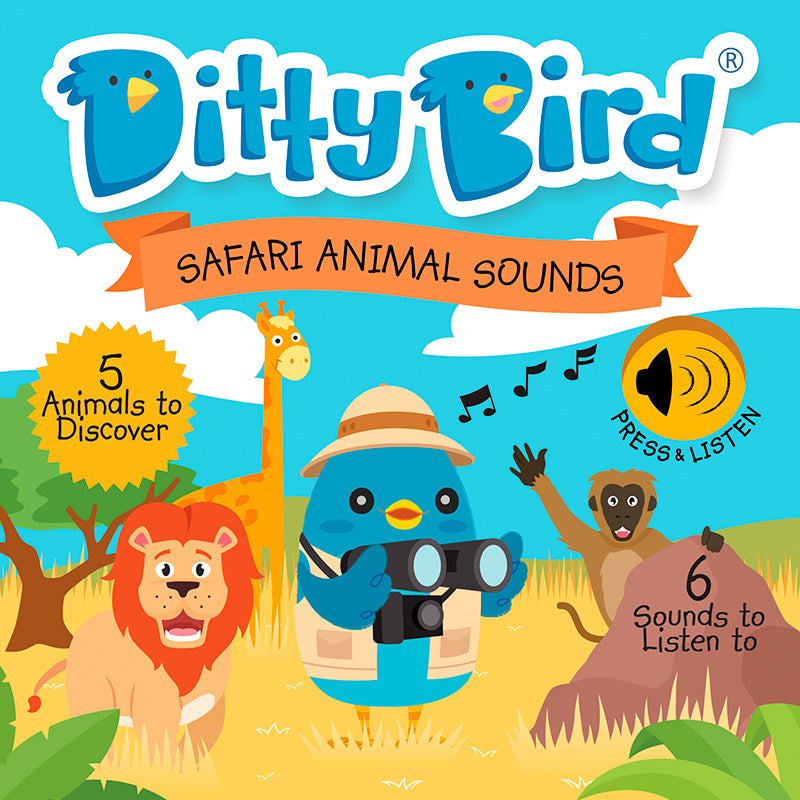 Ditty Bird - Safari Animal Sounds - Happki