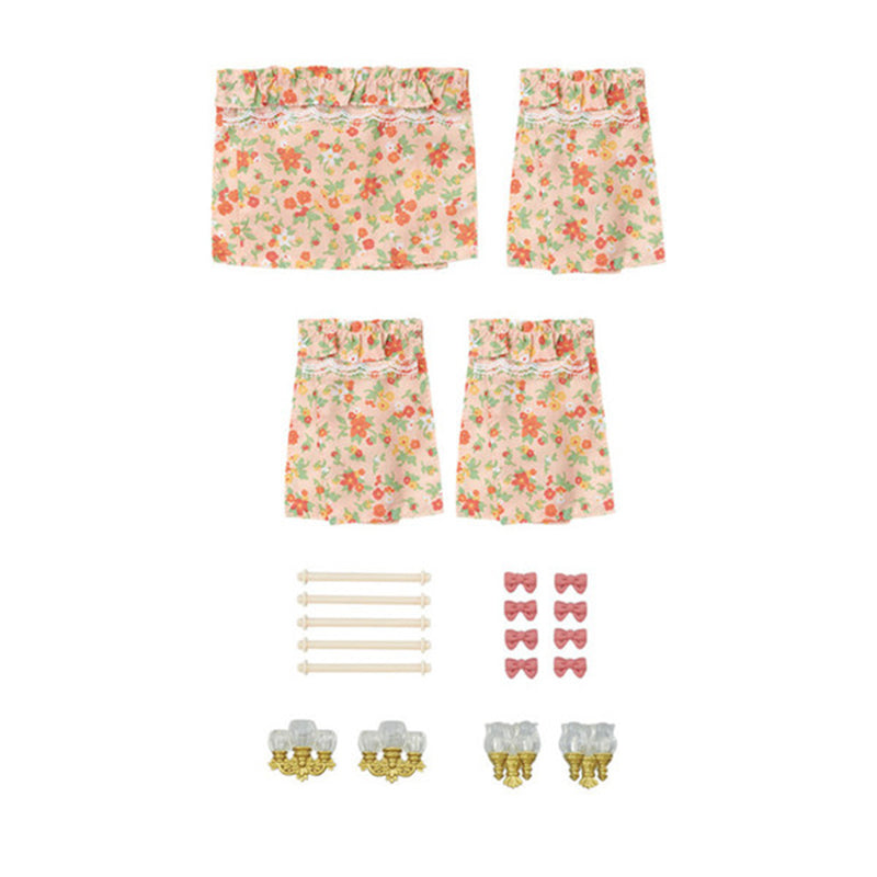Wall Lamps & Curtains Set - Happki