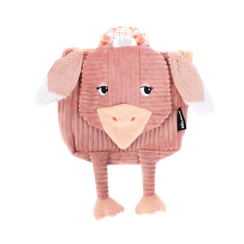 Corduroy Toddler Backpack Pomelos The Ostrich - Happki