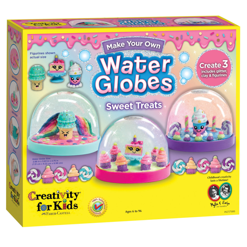 Make Your Own Water Globes- Sweet Treats - Happki