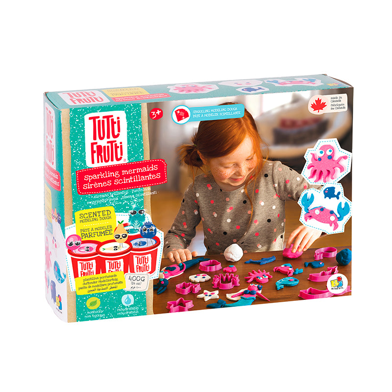 Tutti Frutti Sparkling Mermaids Kit - Happki