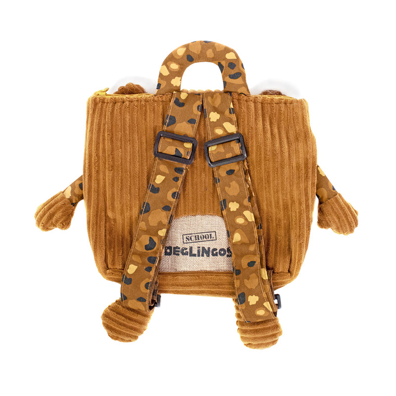 Corduroy Toddler Backpack Speculos The Tiger - Happki