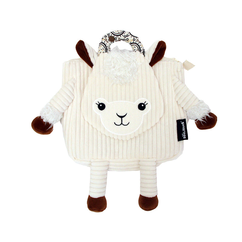 Corduroy Toddler Backpack Muchachos The Llama - Happki