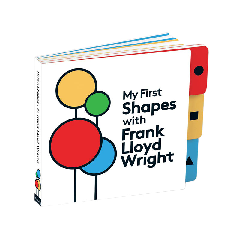 My First Shapes With Frank Lloyd Wright Board Book - Happki