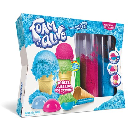 Foam Alive Make N' Melt Ice Cream Kit - Happki