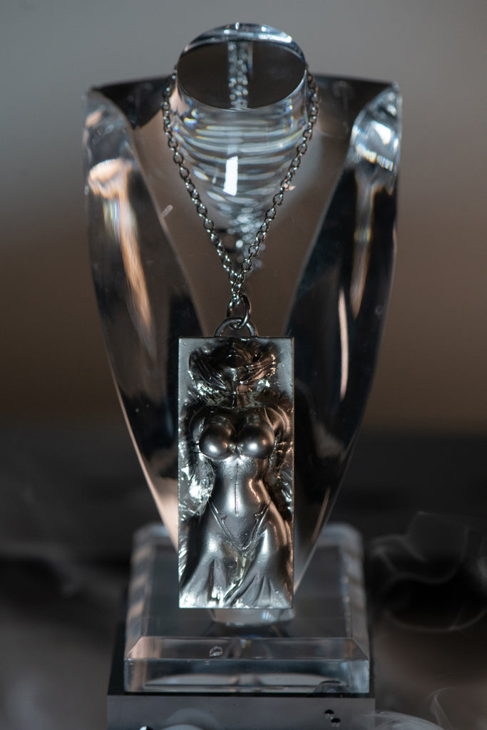 """Ghost in the Shell: SAC_2045""× haraKIRI COLLABLATION ""MOTOKO"" Pendant"