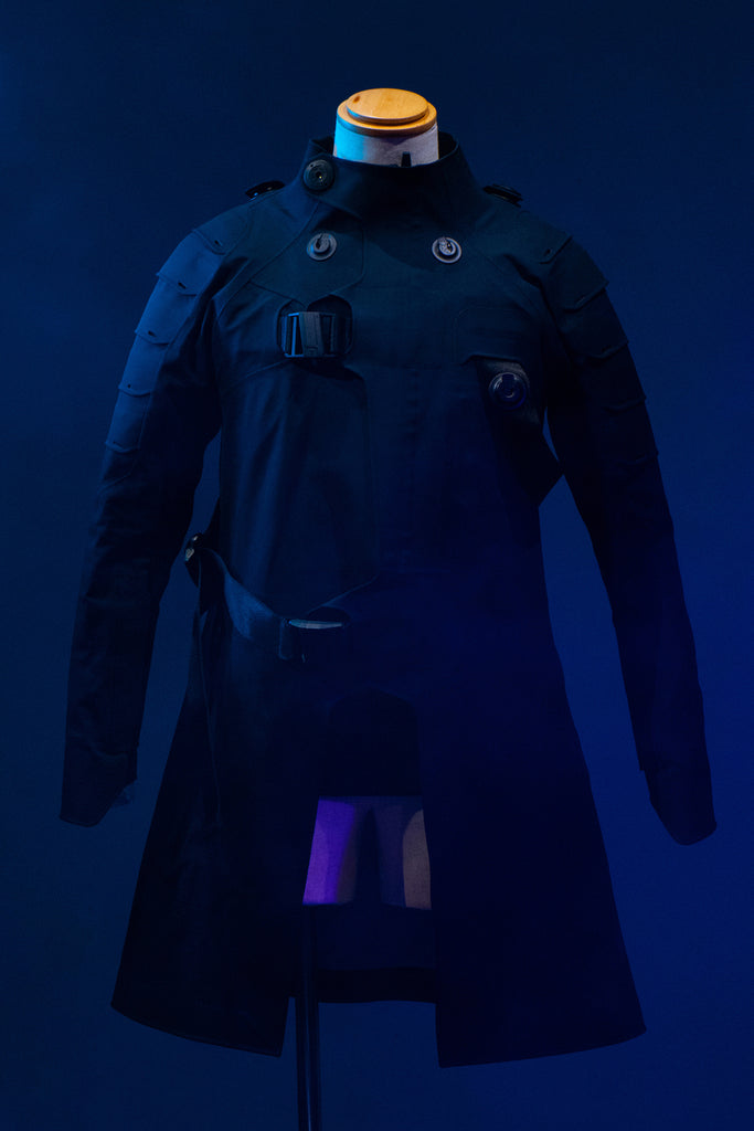 """Ghost in the Shell: SAC_2045"" Ultimate tech coat"